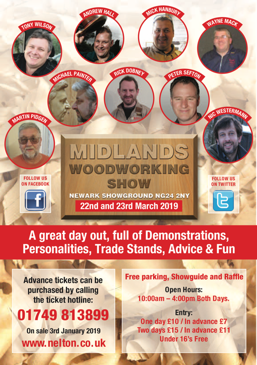 The Midlands Woodworking and Power Tool Show 2019